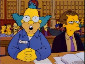 Krusty Trial